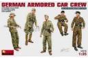 1/35 German armored car crew