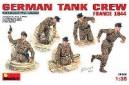 1/35 German tank crew France 1944