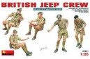 1/35 British jeep crew