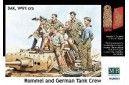 1/35 Rommel and German tank crew