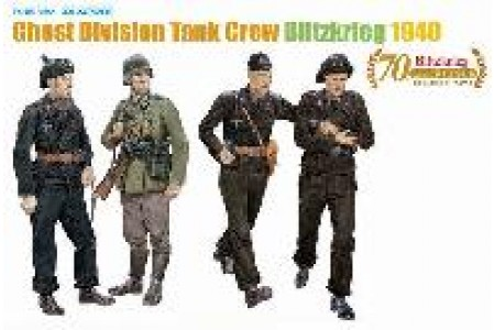 1/35 Ghost division tank crew