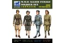 1/35 Allied female soldiers