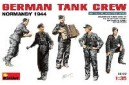 1/35 German tank crew Normandy 1944