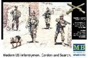 1/35 Modern US infantrymen Cordon and search
