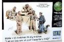 1/35 Modern US tankmen in Afghanistan