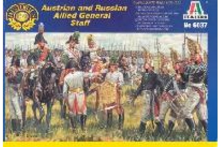 1/72 Austrian and Russian general staff