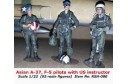 1/32 Asian A-37 and F-5 pilots w/ instructor