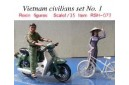 1/35 Vietnam civilians set No. 1