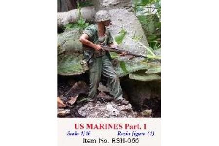 1/16 US MARINES w/ M1 Garand rifle