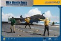 1/48 USN Nimitz deck w/ jet blast (4 figures)