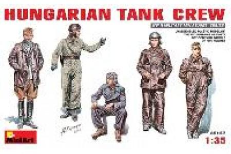 1/35 Hungarian tank crew