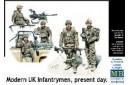 1/35 Modern UK infantrymen