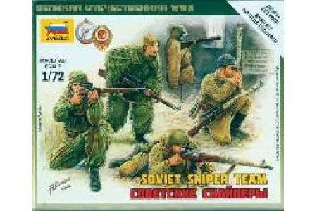 1/72 Soviet sniper team