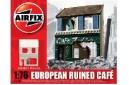 1/72 (1/76) European ruined cafe