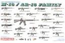 1/35 M-16/ AR-15 RIFLE FAMILY