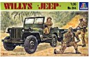 1/35 Willys Jeep w/ crew
