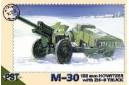 1/72 122mm gun w/ Zis-6 truck