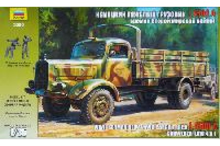 1/35 German heavy truck Mercedes L-4500A