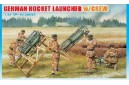 1/35 German rocket launcher w/crew
