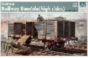 1/35 German railway Gondola high sides