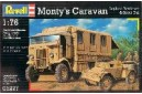 1/72 (1/76) Monty caravan w/ Scout car