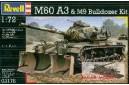 1/72 M-60A3 w/ M-9 bulldozer