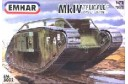 1/72 WWI Heavy tank MK IV Female