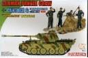 1/72 Panther G zimmerit w/ panzer crew