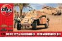 1/72 (1/76) Sdkfz 222 and Kubelwagen
