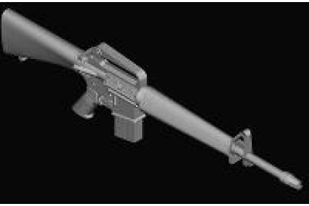 1/35 M-16A1/ AR-15 machine gun