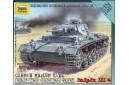 1/100 German medium tank Panzer IIIG