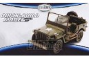 1/32 Jeep Willys army green (PREPAINTED)