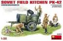 1/35 Soviet field kitchen KP-42 w/crew