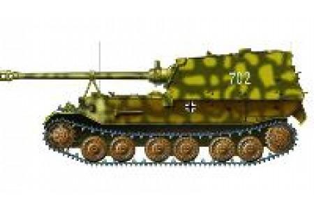 1/72 Ferdinand 654th panzerjager (prebuilt)