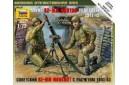 1/72 Soviet 82mm mortar w/ crew
