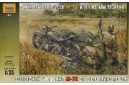 1/35 Soviet motorcycle M-72 w/ mortar