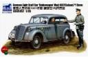 1/35 German staff car w/ crew