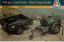 1/35 250 galons tank & M-101 cargo trailers