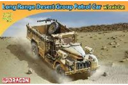 1/72 Long range desert car w/ Lewis gun