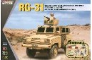 1/35 RG-31 w/ 4 US army soldiers
