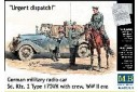 1/35 Urgent dispatch! (Sdkfz 2 w/ officers)