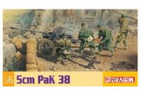 1/6 German 5cm Pak 38