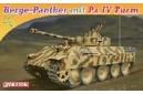 1/72 Berge-panther mit Pz. IV Turm