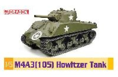 1/6 M-4A3 105mm Sherman tank