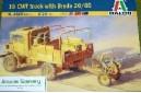 1/35 15 CWT truck w/ Breda AA gun