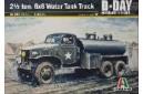 1/35 GMC Water tank truck w/ driver