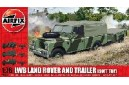 1/72 (1/76) LWB Land Rover and trailer