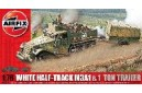 1/72 (1/76) M-3A1 Half track and trailer