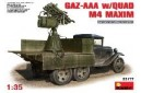 1/35 Gaz-AAA with quad M4 Maxim