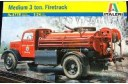 1/24 Medium 3 ton fire truck